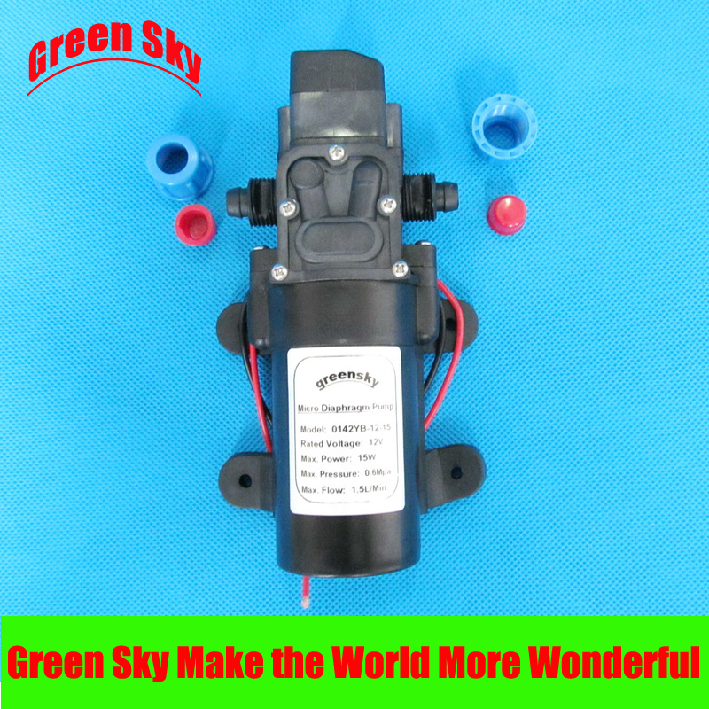 15W dc 12v diaphragm high pressure water pump in Pumps from Home Improvement