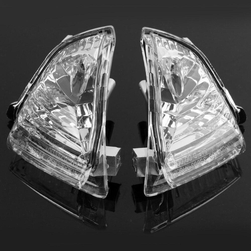 Rear Turn Signals Blinker Light Lens For SUZUKI GSXR 600 750 1000 K5 K6 K7 Smoke