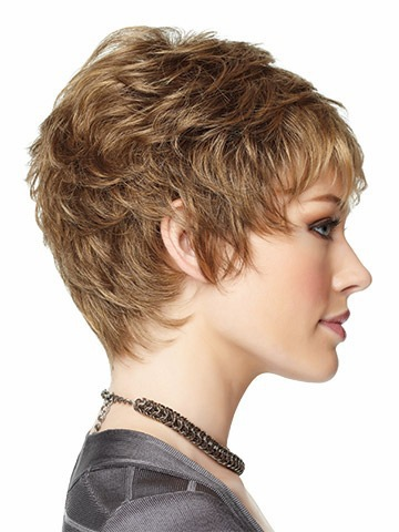 2015new women synthetic hair natural wigs none lace wigs can perm ...