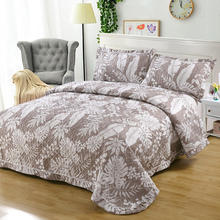 Luxury Royal Art Pattern Quilted Bedspread Elegant Coverlet Set 100% Cotton Summer Bedspread Comforter Fabric Coverlet bedspread eponj home bedspread