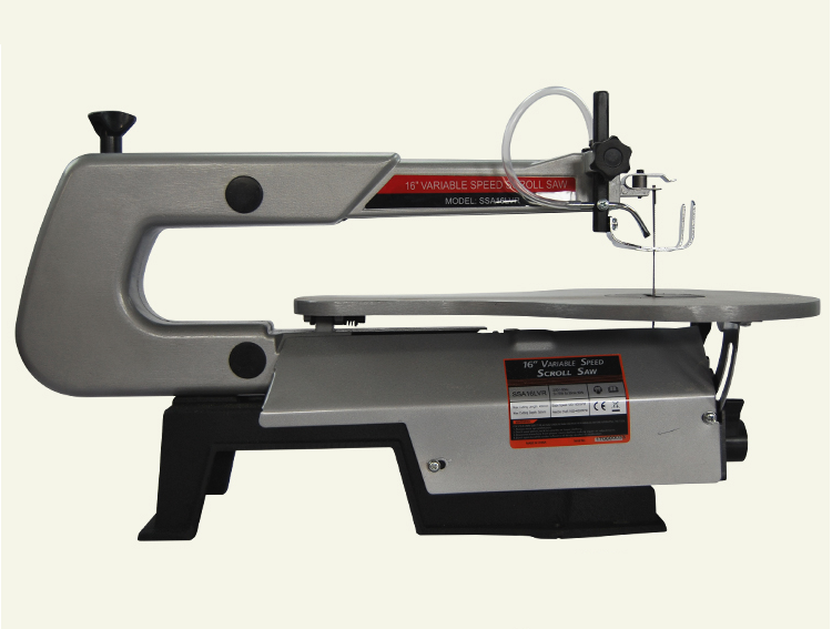 AC220V 120W 16 inch multi function adjustable table jig saw,small table saw,wood/soft metal cutting,material processing DIY tool