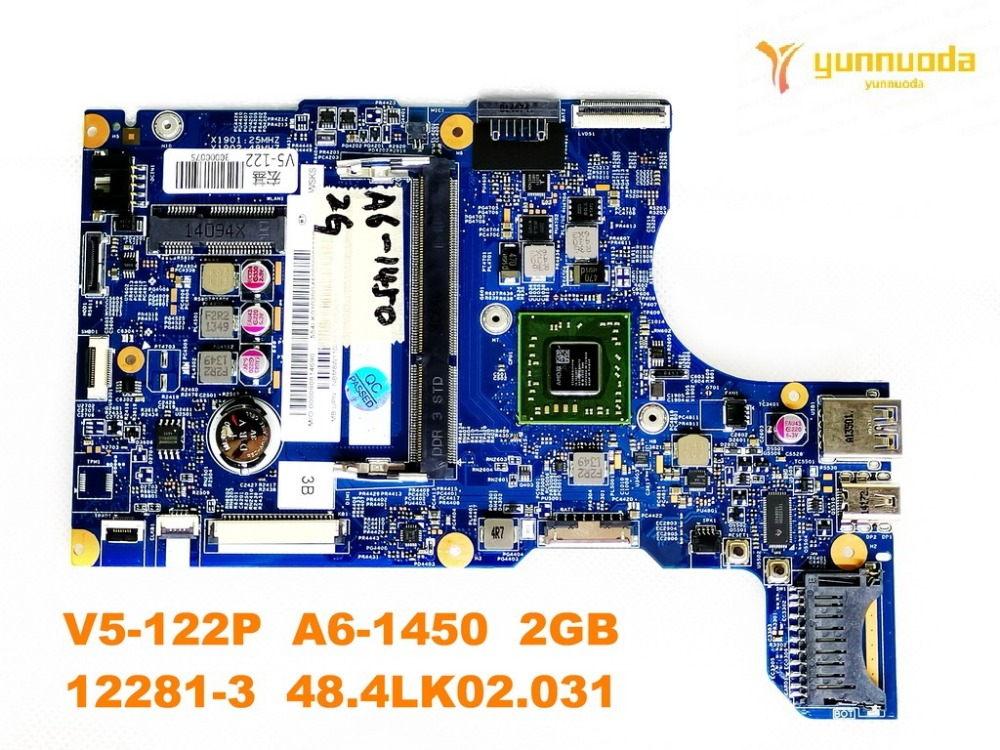 Original for ACER V5-122P  laptop motherboard V5-122P  A6-1450  2GB  12281-3  48.4LK02.031  tested good free shipping Original for ACER V5-122P  laptop motherboard V5-122P  A6-1450  2GB  12281-3  48.4LK02.031  tested good free shipping
