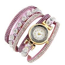 Watch Relogio 2017 Women Watches Fashion Vintage Hot Sale Rhinestone Bracelet Watch Gift Bracelet Watch Gift Quartz Wrist 4*