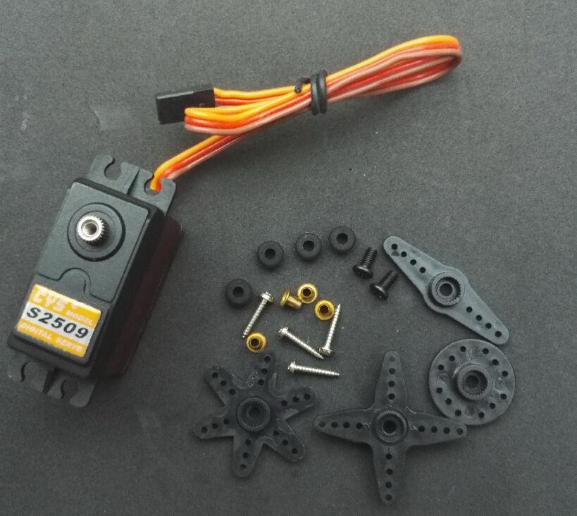 CYS-S2509 numérique 10 kg 64g titane Servo pour RC Futaba Hitec Sanwa JR aligner