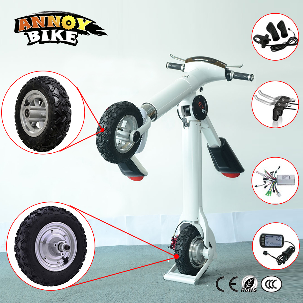 Hub Motor Kit 10 inch 24-48v 350w-800W 12-50km/h Electric Scooter Wheelchair E-Bike Wheel Motor With Reversing Front Wheel 4inches bldc hub motor with tyre hall sensor and eabs function enable for electric scooter ebike motorycle front or rear driven