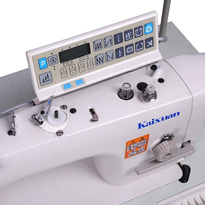 Прямой привод компьютера швейная машина головка Авто Триммер Промышленная швейная машина KX9000D 3