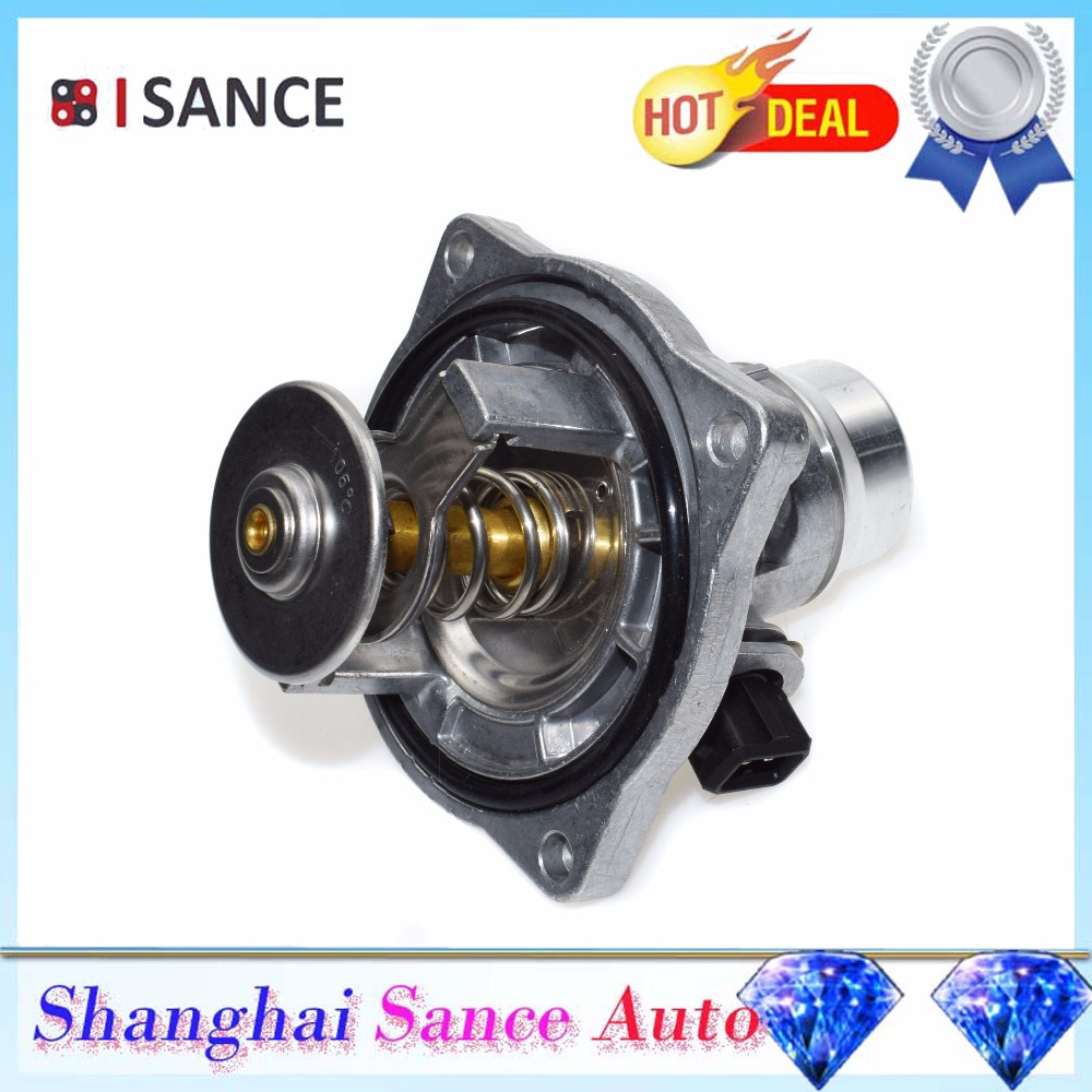 Isance Engine Coolant Thermostat Housing 11531436386 For Bmw E39 Rhaliexpress: Bmw E38 Thermostat Location At Gmaili.net