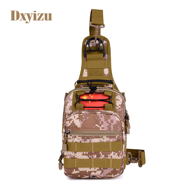 Army fans personality Shoulder bags Messenger bags for men National Cross body Bag Multifunctional Camouflage tactics chest bag satchel big unisex tactics waterproof military camouflage trekking travel bags shoulder bags multifunctional camera saddle bag