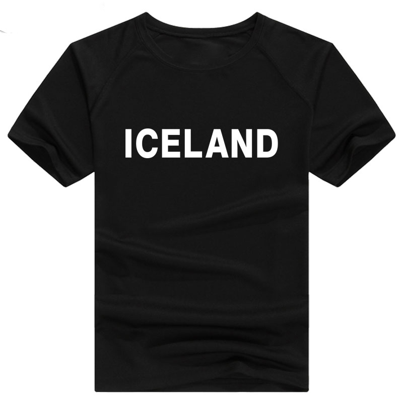 ICELAND t shirt diy free custom name number isl t-shirt nation flag is icelandair icelandic country college print photo clothing ...