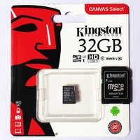 Kingston microSD karte Klasse 10 UHS-I geschwindigkeiten 16gb 32gb 64gb 128gb 256gb handy speicher karte Original freies adapter TF karte