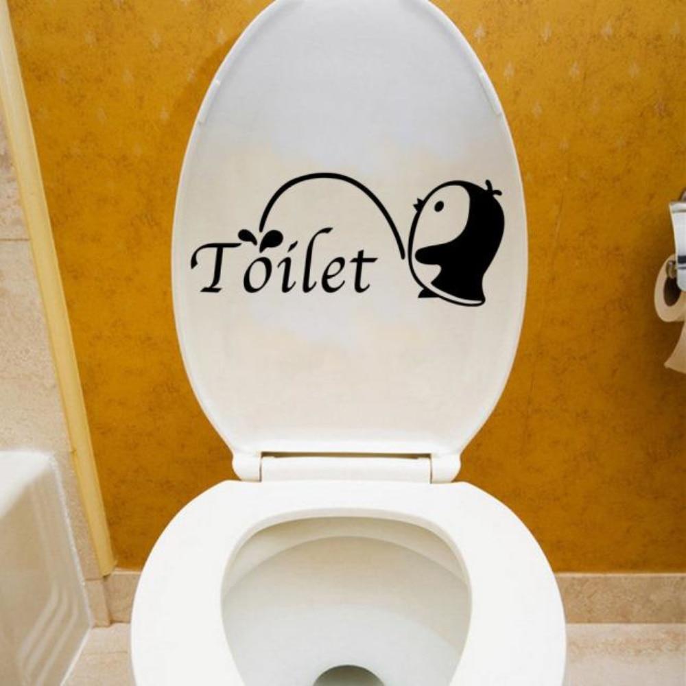 Commentaires autocollant penguin faire des achats en for M bricolage salle de bain