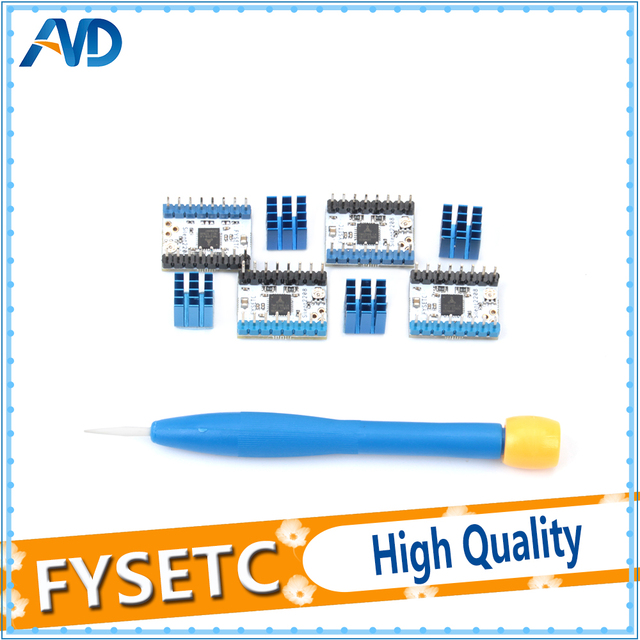 5pcs TMC2208 v1.2 Stepping Motor Mute Driver Stepstick Power Tube Built-in Driver Current 1.4A Peak Current 2A Replace TMC2100