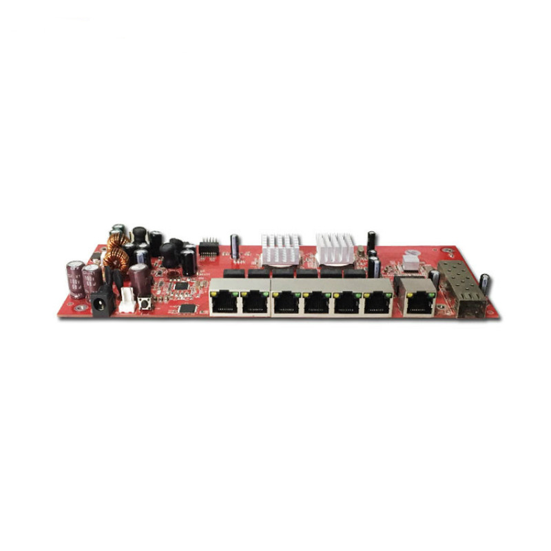 OEM/ODM Yinuo-Link 9 port gigabit SFP switch module support AF/AT  10/100/1000MbpsOEM/ODM Yinuo-Link 9 port gigabit SFP switch module support AF/AT  10/100/1000Mbps
