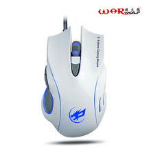Warwolf Professional Wired Mouse 3200DPI 2.4GHz 6D USB Optical Gaming Mouse Mice For PC Laptop Computer Gamer Lovers