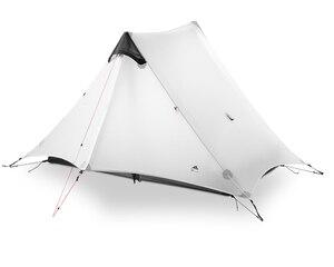 Image 3 - 3F UL GEAR LanShan 2 2 인 야외 초경량 캠핑 텐트 3 시즌 프로페셔널 15D 실리콘로드 레스 텐트 4 시즌