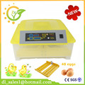 Cheap fully automatic 48 chicken eggs household digital thermostat incubator machine for sale
