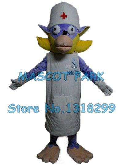 Chien docteur mascotte costume personnalisé dessin animé personnage cosply adulte taille carnaval costume 3092
