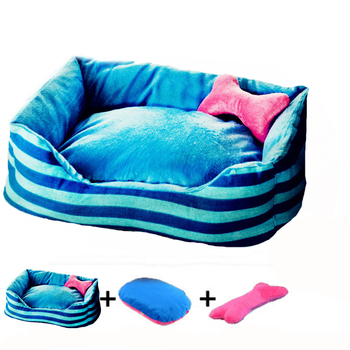 Christmas Small Dog Bed House Durable Soft Pet Sofa Puppy Cat Mat Princess Style
