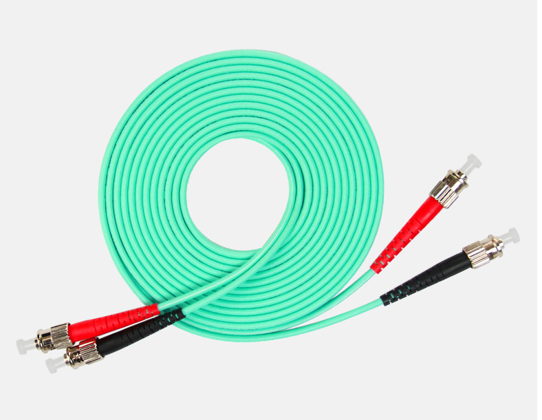 1 Meter St-st Fiber Optic Cable 10g Multimode Duplex Patch Cord Om3 50/125