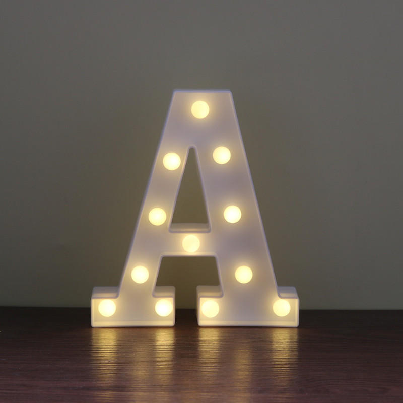 Compare Prices on Led Letter Lights Online ShoppingBuy Low Price
