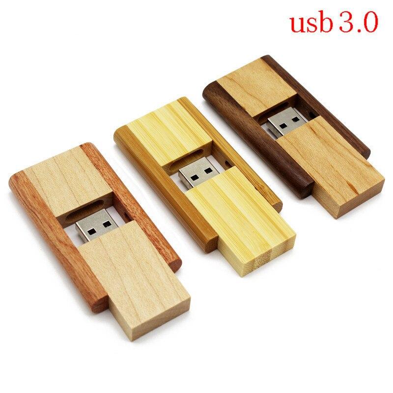 BiNFUL Wedding Gifts Wooden USB Flash Pen Drive Walnut USB 3.0 Wooden LOGO Engrave Usb Stick