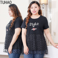 TUHAO Women Casual Blouse Shrits Plus Size 10xl 8XL Female Office Lady Elegant Tops 6XL 4XL Large Size Woman Blouses Shirt Cloth