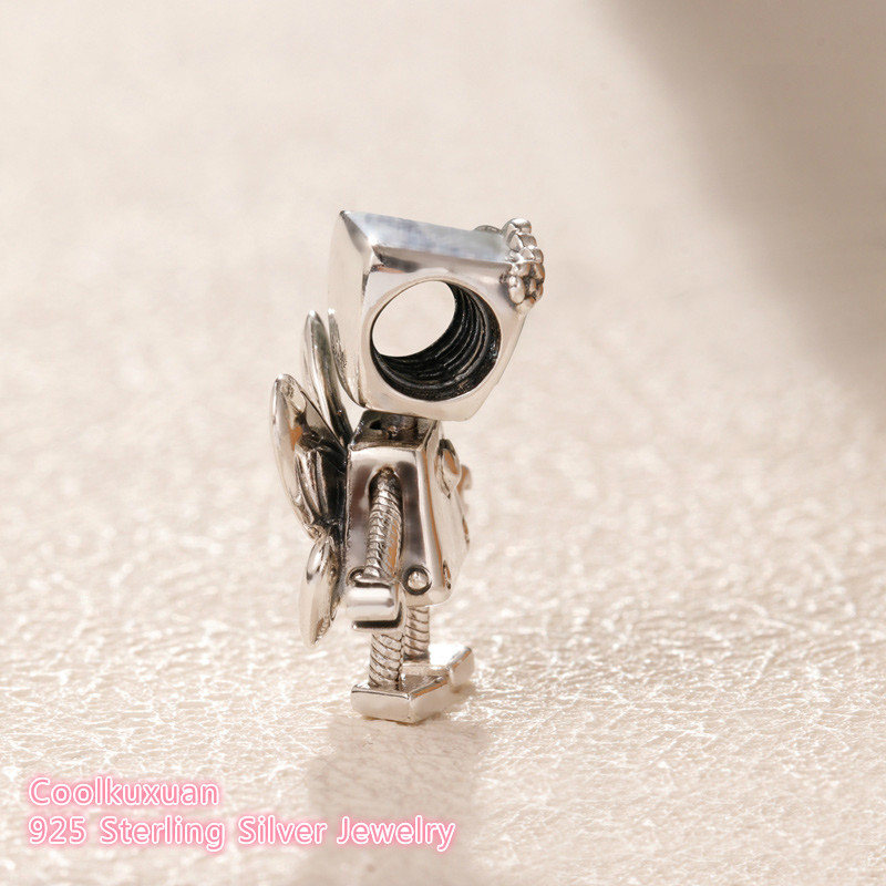 Image 3 - 2019 Spring Original 100% 925 Sterling Silver Limited Edition Floral Bella Bot Charm beads Fits Pandora bracelets Jewelry Making-in Beads from Jewelry & Accessories
