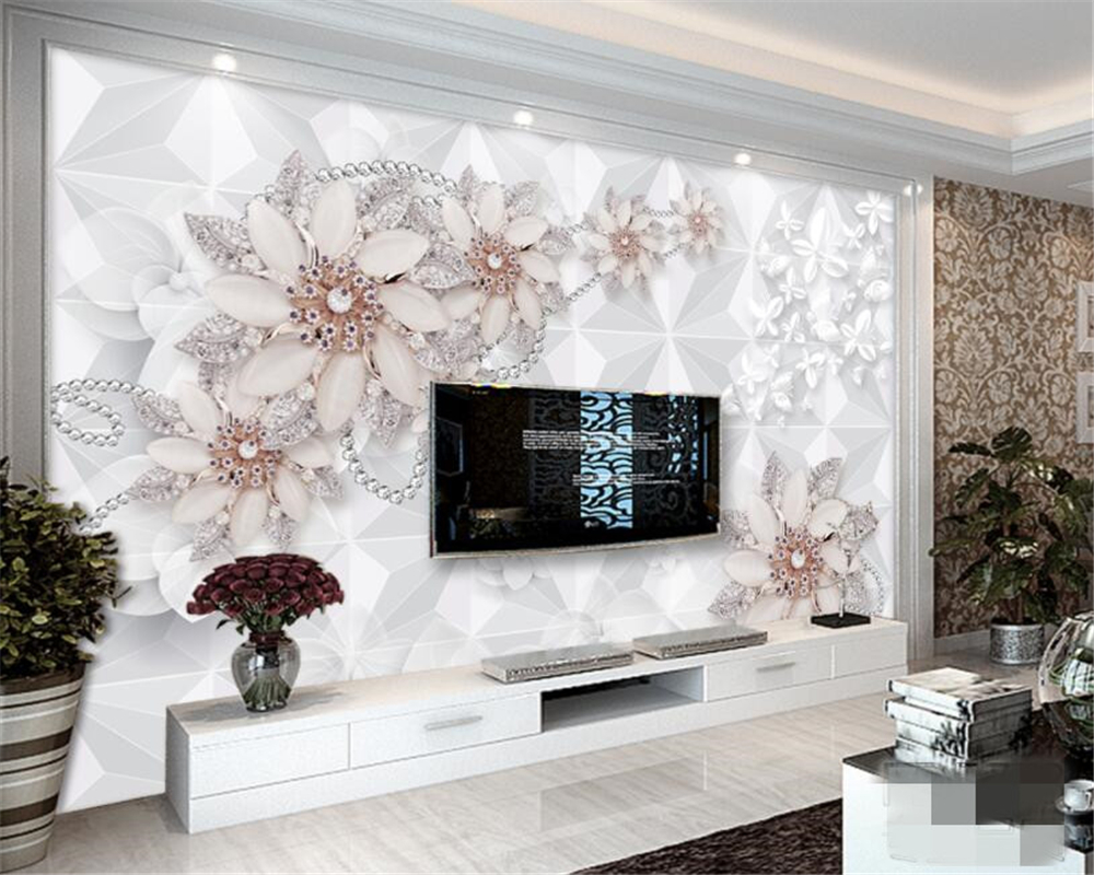 Beibehang Custom Photo Wall Mural 3d Wallpaper Luxury: Beibehang Custom High Quality 3D Wallpaper Fashion Luxury