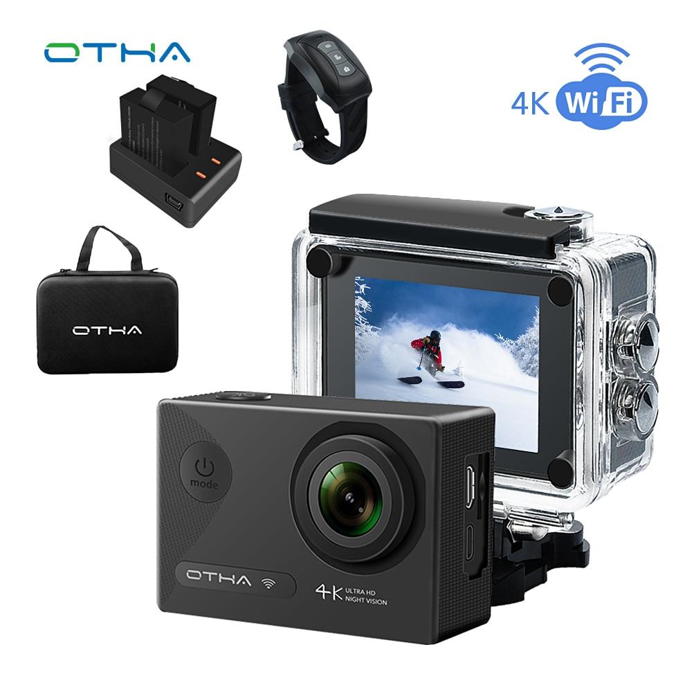 Здесь продается  OTHA 4K Action Camera Underwater Sports Cam Night Version WiFi Ultra HD 2.0inch Waterproof/shokproof 30M(98FT) 16MP Video Camera  Бытовая электроника