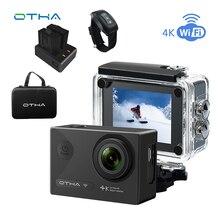 OTHA 4K Action Camera Underwater Sports Cam Night Version WiFi Ultra HD 2.0inch Waterproof/shokproof 30M(98FT) 16MP Video Canera