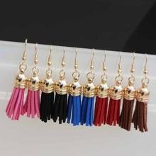 Fashion Tassel Drop Earrings For Women Jewelry Oorbellen Brincos Dangle Earing Accessories Bijoux Gift Simple Harajuku Style