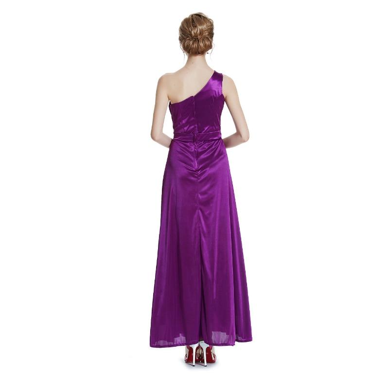 W.JOLI 2017 Beading Appliques Long Evening Dress Brude Bankett - Spesielle anledninger kjoler - Bilde 2