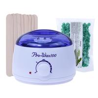 Temperature Adjustable Wax Heater Hair Removal Cream Pearl Wax Beans Set EU Plug Warmer Heater Professional