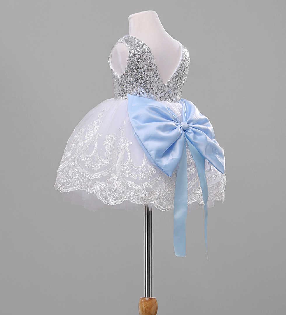 Nuevo estilo moda arco flor niña princesa vestido niños fiesta boda dama de honor tul tutú vestidos dulce elegante lindo CH