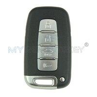 Smart Remote Key Accent Elantra IX35 Smart Key 4 Button 434Mhz for Hyundai Car Key Remtekey
