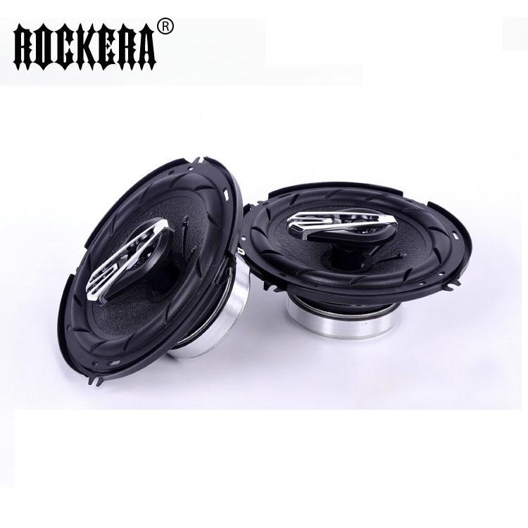 Automobile Automotive Loudspeaker Max 200W 6 Inch Paired Car HiFi Speaker Full Range Bubble Gum Edge Auto Speakers