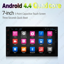 7inch Universal Android 4.4.4 Quad Core Car Media Player With GPS Navi Radio For Nissan/Hyundai 2DIN ISO #J-2421