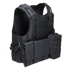 цена на Tactical Military Swat Field Battle Airsoft Molle Combat Assault Plate Carrier Vest Hunting Chaleco Tactico Militar Army Vest
