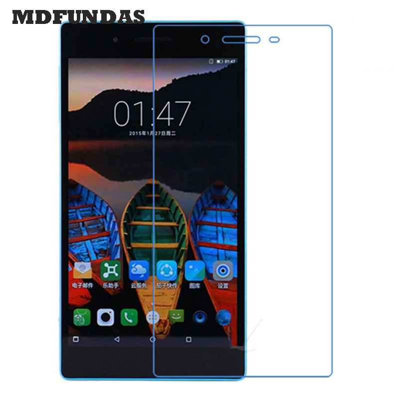 Glass For Lenovo Tab 3 7.0 730M 730X 730F (Tab3 TB3-730M) Tablet Pad Tempered Glass Screen Protector 2.5D 9H Glass Film MDFUNDAS