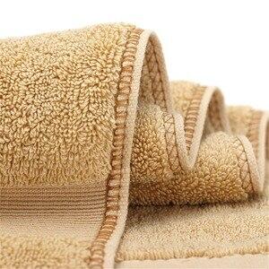 Image 4 - 100% turc coton petite serviette ensemble Super doux famille invité hôtel serviette couleur unie absorbant 75*35 cm 170G