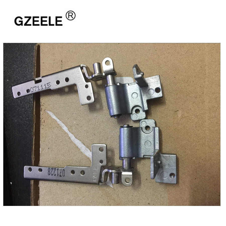 GZEELE LCD Screen Hinges for Sony vaio VGN AR VGN-AR AR68 AR32 AR320E Series Left & right 17-inch Laptop LCD Screen Hinges L+R free shipping for sony vpc f vpcf138 f127h f119fcx f221 lq164m1la4a lcd screen 16 4 wuxga 2 ccfls for vgn fw laptops