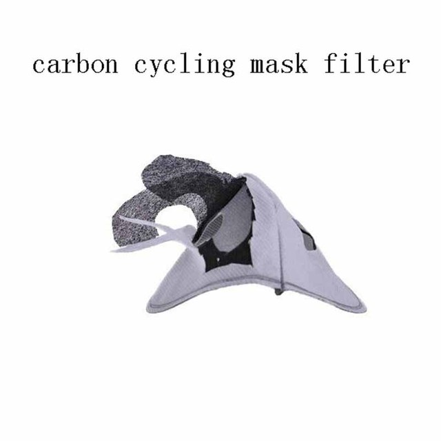 PM2.5 Face Mask Filter Paper Activated Carbon Filter Anti Allergy Flu Dustproof For Double Respirator Mouth Mask health care 2
