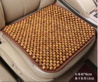 Car Seat Summer Single Sheet Wooden Beads Mats Breathable Chair Mat Cool Pad Summer Beads Seat Cushion