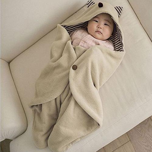 Nuevo Cochecito de Bebé Envolver Manta saco de dormir Recién Nacido Swaddle Regalos