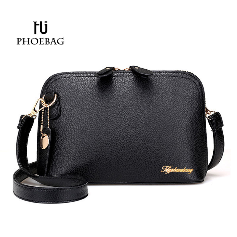 HJPHOEBAG 2017 Small Shell Bag Fashion Shoulder Bag New Women Messenger Bag Hot Sale pu leather lady Messenger Bags XB-458 yuanyu 2018 new hot free shipping import crocodile women chain bag fashion leather single shoulder bag small dinner packages