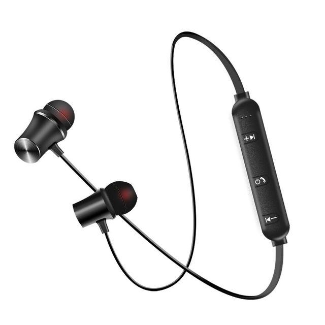 Date écouteurs sans fil écouteurs Bluetooth casque pour téléphone Neckband écouteurs de sport Auriculare RSE Bluetooth Pour Tous Les Téléphones