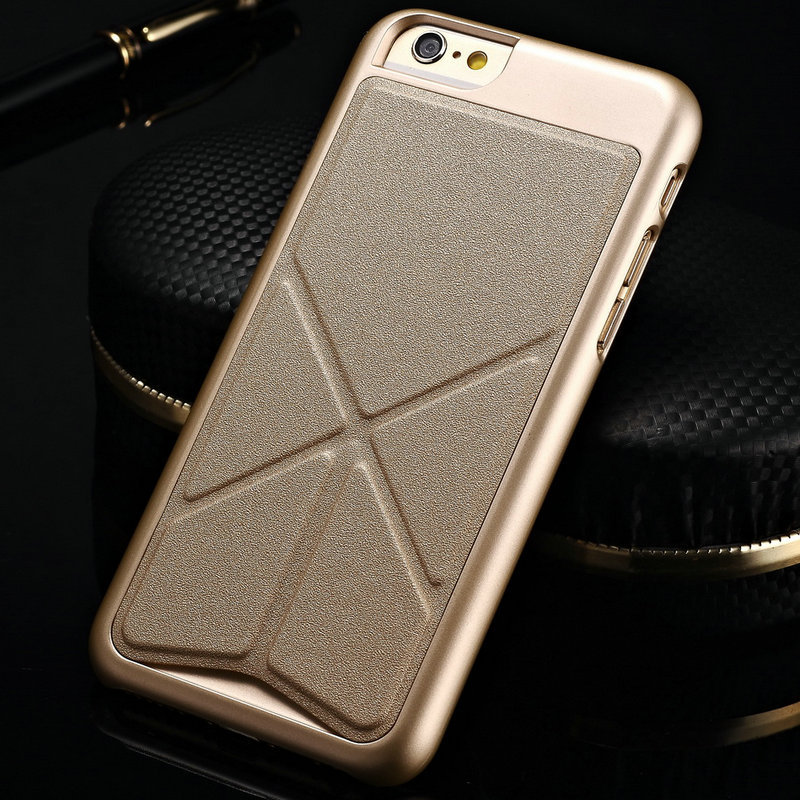 the best attitude ca026 0ef2e US $6.52 |Luxury Shapes Magnetic Stand Leather Case for iPhone 6 Plus 6S  Plus 5.5