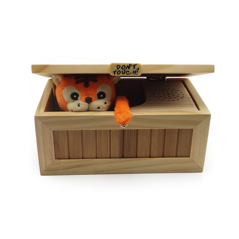 Kids Gift Electronics Toys Electric Funny Angry Tiger Magic Boring Box