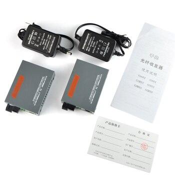 A side or B HTB-3100 A/B 25KM netLINK 10/100M Single-mode Single-fiber WDM Fiber Media Converter 1310nm 1550nm - discount item  15% OFF Communication Equipment