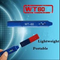Medidor de Gauss de dosímetro de radiación WT 60 pluma de detección magnética WT60 imanes de determinación Medición de clase NS Detetor Norte Sur|ns| |  -